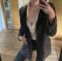 H&M Giacca di lana grigio-nero