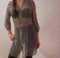 Blacky Dress Blusa trasparente grigio