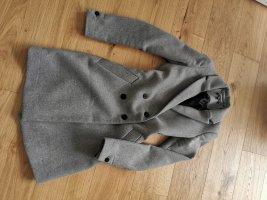 Zara Veste d'extérieur noir-gris foncé