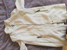 Mango Geklede jurk wit