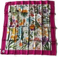 Mantero Foulard en soie multicolore soie