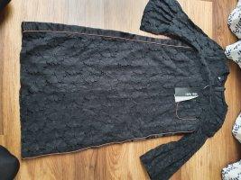 Marc Aurel Vestido de encaje negro-marrón