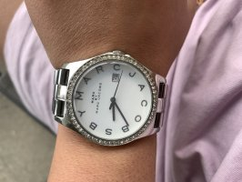 Marc by Marc Jacobs Watch With Metal Strap silver-colored-light grey metal