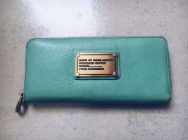 Marc by Marc Jacobs Classic Q Slim Zip Around Wallet in Türkis