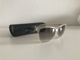 Marc by Marc Jacobs Angular Shaped Sunglasses pale yellow