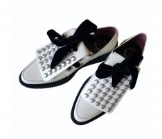 Marc by Marc Jacobs Mocasines blanco-negro