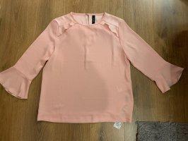 Marc Cain Collection Bluse Shirt rosa rosé N5 42 L Volants