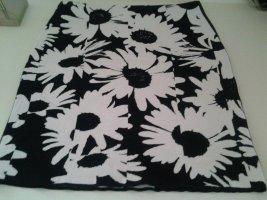 Marc Cain Gonna lavorata a maglia bianco-nero