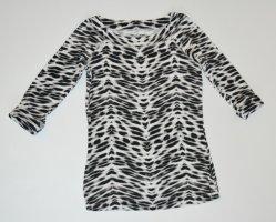 MARC CAIN SNAKE Zebra SHIRT N5 40 42 - aktueller Animalprint