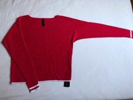 marc cain sports Felpa kimono rosso lampone