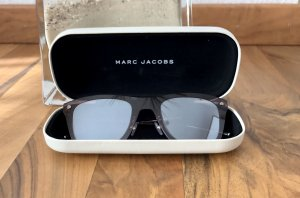 Marc Jacobs Angular Shaped Sunglasses grey brown-taupe