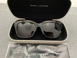 Marc Jacobs Hoekige zonnebril zwart-goud