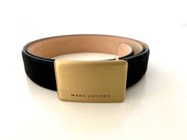 Marc Jacobs Leather Belt black leather