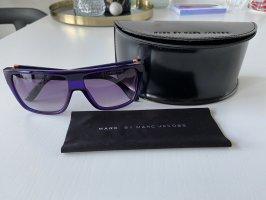 Marc Jacobs Angular Shaped Sunglasses blue violet-salmon