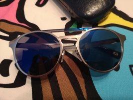 Marc Jacobs Gafas de sol redondas color plata-azul metal