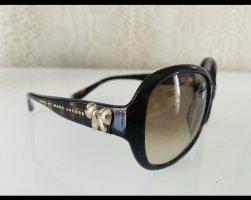 Marc Jacobs Ovale zonnebril donkerbruin-bruin