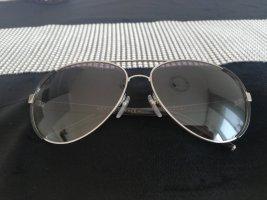 Marc Jacobs Lunettes de soleil ovales noir-argenté