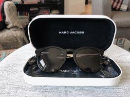 Marc Jacobs Okrągłe okulary przeciwsłoneczne czarny-srebrny