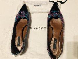 Marc Jacobs Ballerine en pointe multicolore