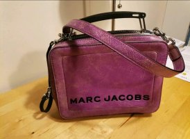Marc Jacobs Crossbody bag grey violet leather