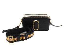 Marc Jacobs Shoulder Bag black leather