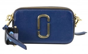 Marc Jacobs Crossbody bag dark blue-azure leather