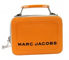 Marc Jacobs Torba na ramię pomarańczowy Skóra