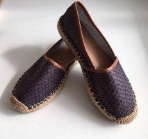 Marco Polo Zapatos de marinero azul oscuro-gris antracita