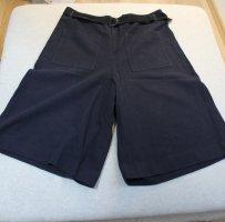 Marc O'Polo Culottes dark blue-blue cotton