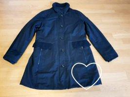 Marc O'Polo Cappotto invernale blu scuro Tessuto misto
