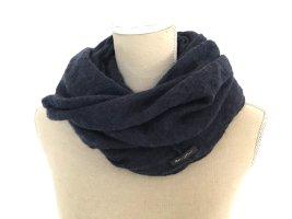 Marc O'Polo Bufanda de lana azul oscuro-azul