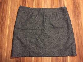 Marc O'Polo Minirock grau Wolle Gr. 38 Neu