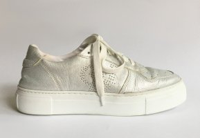 Marc O'Polo Plateau-Sneaker Leder silber Gr. 40 Art. No. 80114463502101