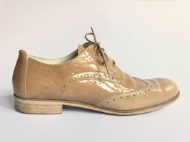 Marc O'Polo Lace Shoes beige-light brown leather