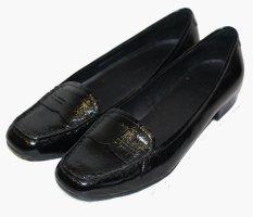 MARC O POLO Schuhe Slipper schwarz Leder Gr. 37