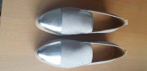 Marc O'Polo Zapatos formales sin cordones color plata-gris claro