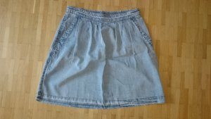 Marc Cain Gonna di jeans grigio ardesia-blu pallido