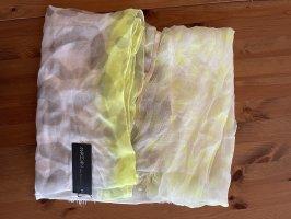 MARCCAIN Écharpe d'été jaune fluo modal
