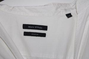 Marco Polo Camisa de franela blanco-negro