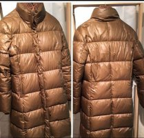 Campus Marco Polo Quilted Coat bronze-colored
