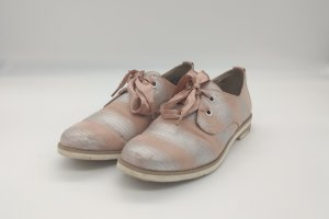 Marco Tozzi Derby silver-colored-rose-gold-coloured