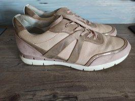 Marco Tozzi Sneaker rosa mit goldenen Details Gr. 41