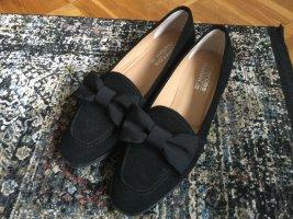 Slip-on Shoes black leather