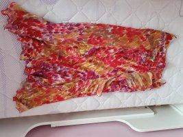 Marella Zijden rok framboosrood-paars