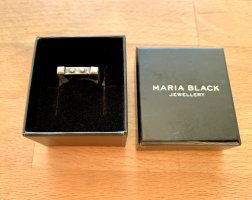MARIA BLACK antique silver Ring
