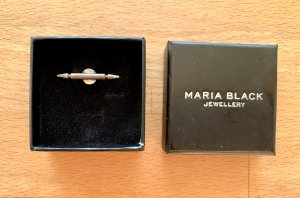 MARIA BLACK Ohrring antique silver