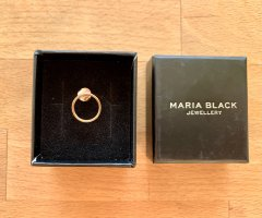 Maria Black Gold Earring rose-gold-coloured metal