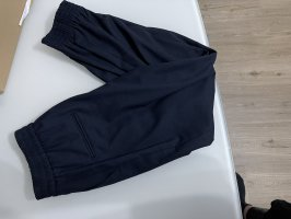 Marineblau zara jogginghose fester stoff neu