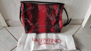Mario Valentino Damen rot/schwarz Lack