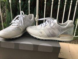 Maripé Sneaker Silber-weiss